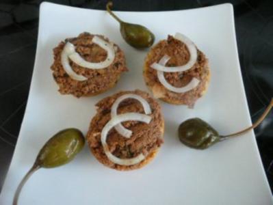 BRUSCETTA/Crostini:Geflügelleber - Rezept