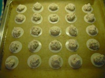 Weihnachtsbäckerei-Kokosmakronen - Rezept