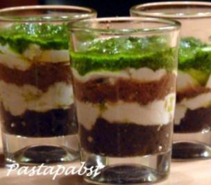 Rezept: Tricolore im Glas