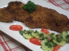 Wiener Schnitzel an grünem Kartoffelsalat - Rezept