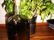 Basilikumöl - Rezept