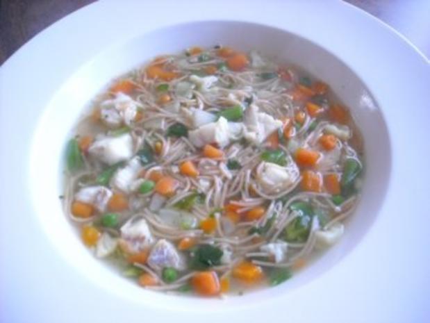 Gemüse-Fisch-Suppe - Rezept