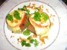 Überbackene Tomaten-Burger - Rezept