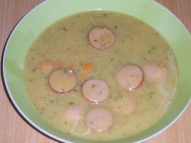 boto's Kartoffelcremesuppe mit Bockwürsten - Rezept