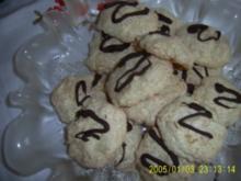Weihnachtsbäckerei Kokosmakronen - Rezept