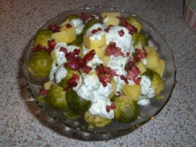 Rosenkohlsalat nach Weight Watchers - Rezept
