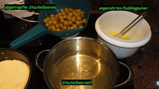 KuchenZwerg : STACHELBEER-TORTE - Rezept - Bild Nr. 3