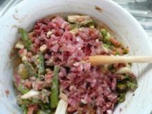 SALAT/SPARGEL:grün,Tomaten,Schlotten - Rezept