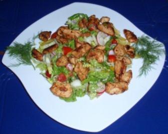 Bunter salat mit croutons rezepte