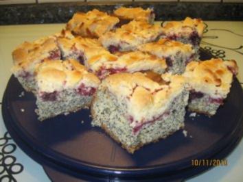 Beeren - Mohn - Kuchen - Rezept