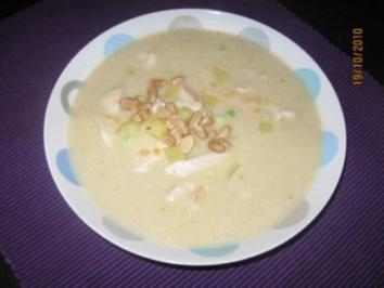 Eintopf mit Kokosmilch, roten Linsen und Ingwer - Rezept