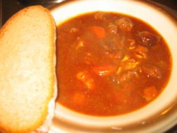 Suppe: Ochsenschwanzsuppe - Rezept