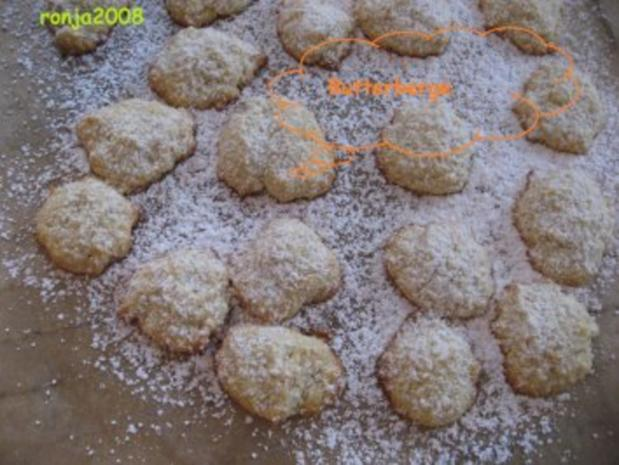 Weihnachtsplätzchen- Butterberge - Rezept