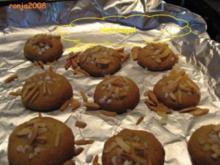 Weihnachtsplätzchen- Hefehügel - Rezept