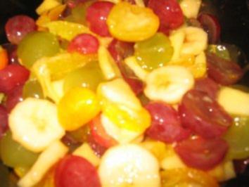Dessert: Kumquats Obst Salat - Rezept