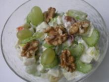 Salat à la Waldorf - Rezept