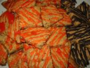 ... Nussige Orangenwürfel.... - Rezept