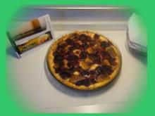 Marzipan-Himbeer-Torte - Rezept