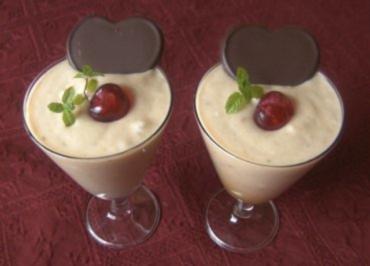 Bananen - Eierlikörcreme - Rezept