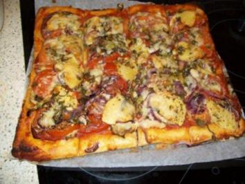 Pizza speciale - Rezept