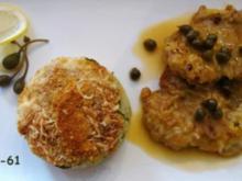 SCALOPPINE AL LIMONE E CAPPERI - Kalbsschnitzel an Zitronen-Kapernsauce - Rezept