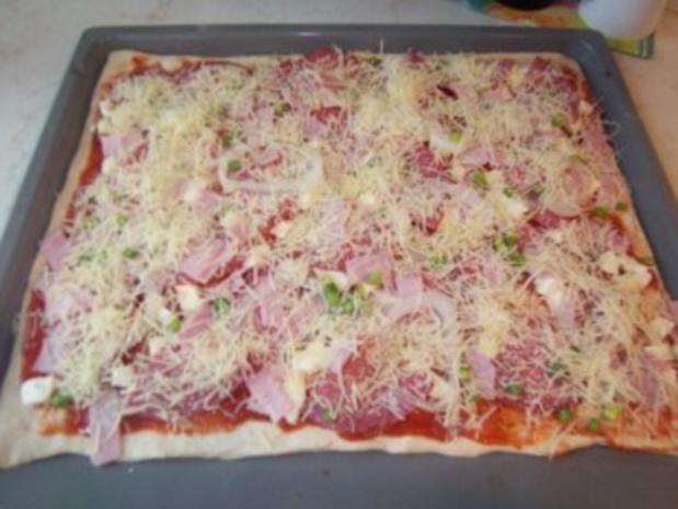 Pizza-Teig - Rezept - Bild Nr. 2