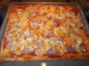 Pizza-Teig - Rezept