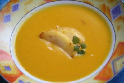 Apfel-Kürbis-Suppe - Rezept