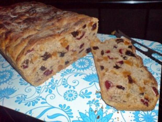 Brot  ~  Kletzenbrot - Früchtebrot - Rezept