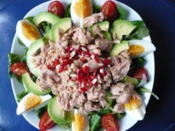 Feldsalat mit Thunfisch - Rezept