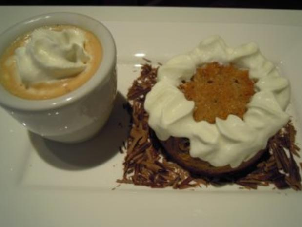 Maroni - Blumentörtchen - Rezept