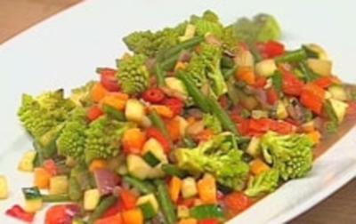 Wok-Gemüse - Rezept