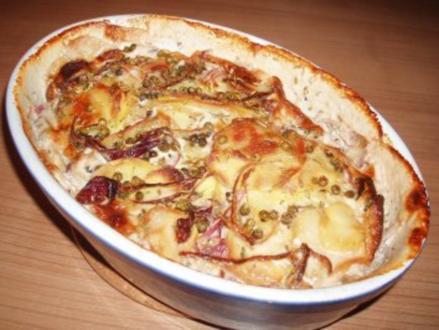 Englischer Kartoffelauflauf - Rezept