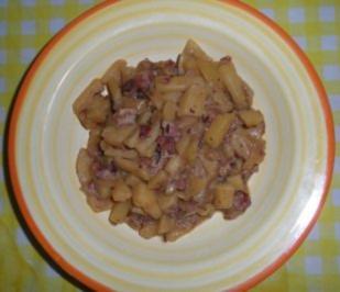 Pikantes Kartoffelgulasch - Rezept