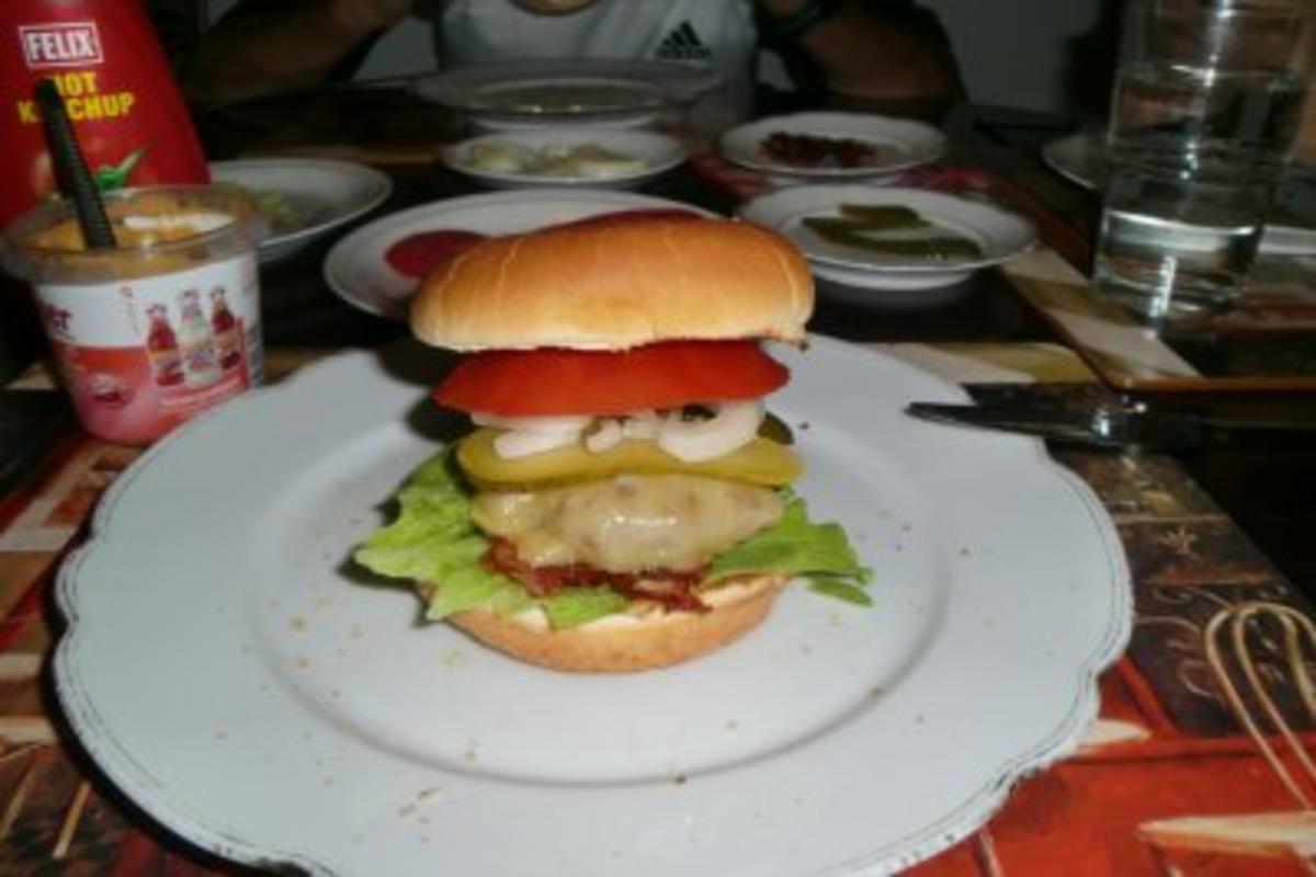 Bilder für Hamburger so wie ich ihn am liebsten mache - Rezept