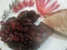 Putenleber mit Paprika - Rezept