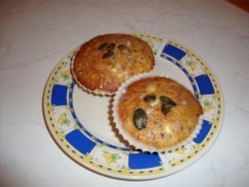 Kernige Muffins - Rezept