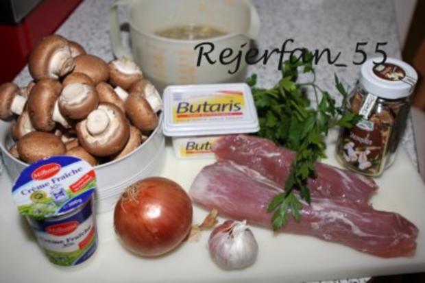 Pilzeintopf mit Filet - Rezept - Bild Nr. 3