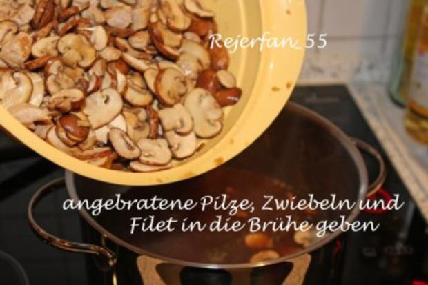 Pilzeintopf mit Filet - Rezept - Bild Nr. 6