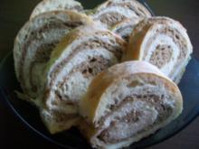 Schwarz - Weis - Brot - Rezept