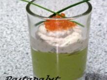 Avocadomousse mit Forellencreme - Rezept