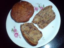 Dinkel-Bananen-Muffins - Rezept