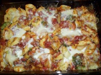 Tortellini-Brokkoli-Auflauf - Rezept