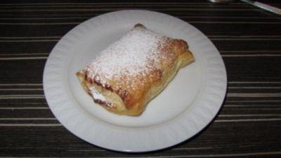 Apfel-Vanille-Quarktaschen - Rezept