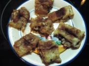 Blätterteigteilchen mit Zucker-Zimt-Birme - Rezept