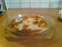 Putengeschnetzeltes a la Caprese Salat - Rezept