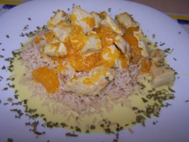 Mandarinen-Reis - Rezept