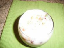 Eierlikör- Kokos-Quark - Rezept