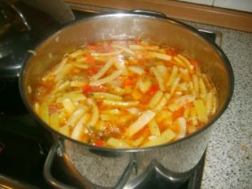Grüne Bohnen Suppe - Rezept