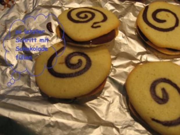 Weihnachtsbäckerei - Schokospiralen - Rezept - Bild Nr. 6